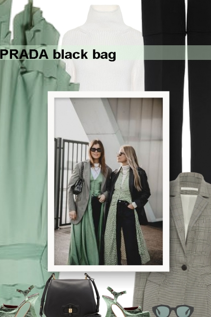 PRADA black bag
