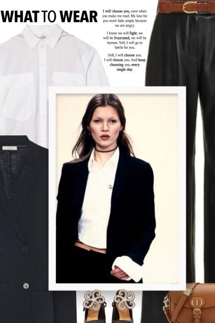 Miu Miu Wide Woven Leather Belt - fall style- Fashion set