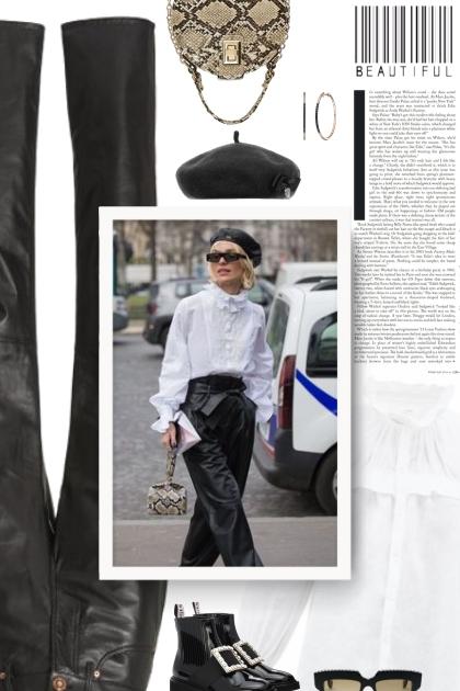ISABEL MARANT ÉTOILE Atedy ruffled shirt- Fashion set