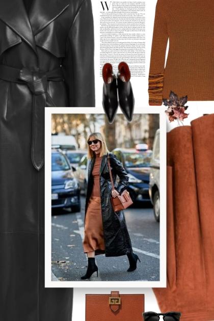 Khaite Blythe coat- Fashion set