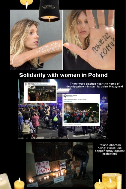 Solidarity with women in Poland