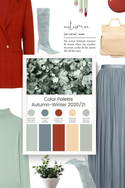 Color Palette Autumn- Winter 2020/21