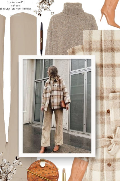 Acne Studios checked felt coat - Fashion set