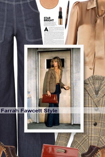Farrah Fawcett Style- Modekombination