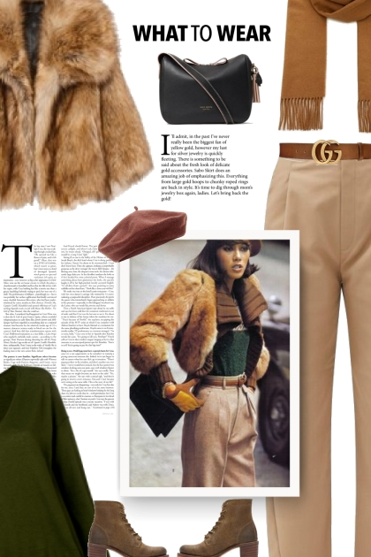 Fall - Faux Fur Coat