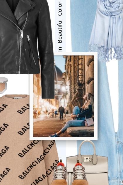 street style - SALVATORE FERRAG