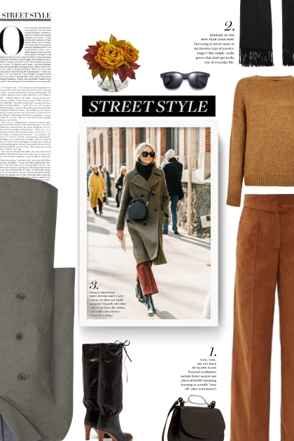 street style -  cashmere scarf