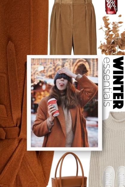 Loewe belted winter coat