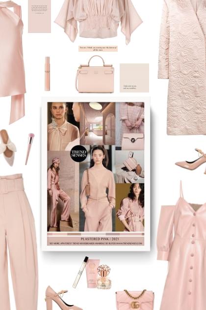 Plastered pink 2021