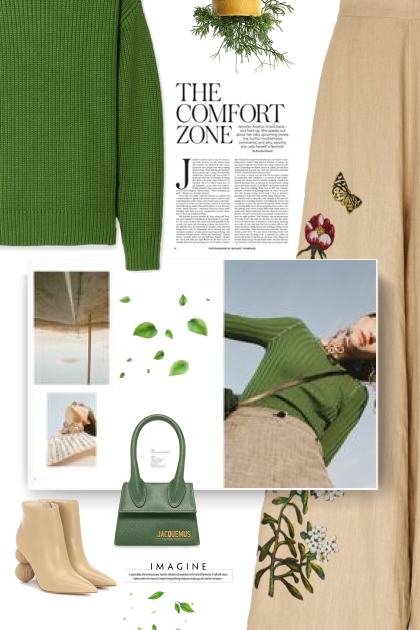 Jacquemus Le Chiquito Mini Leather Bag in green