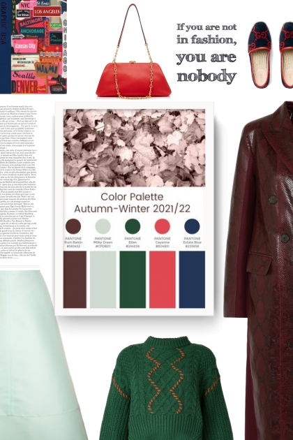 color palette autumn winter 21/22