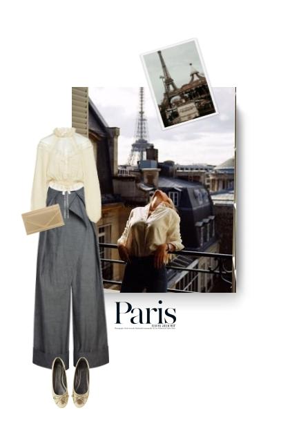 Paris - spring 21- Fashion set