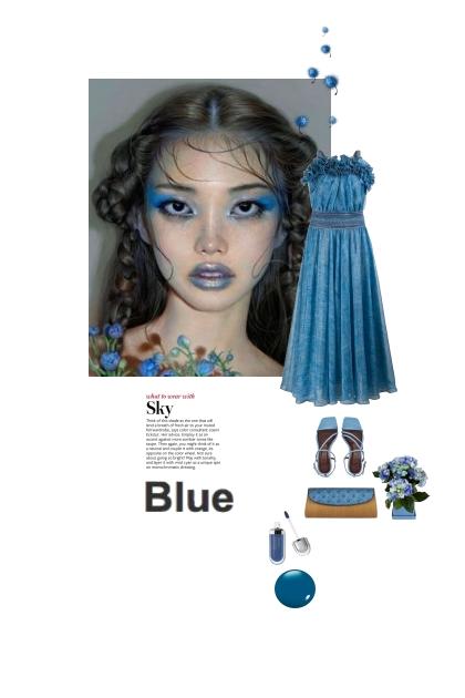 blue sky 2021