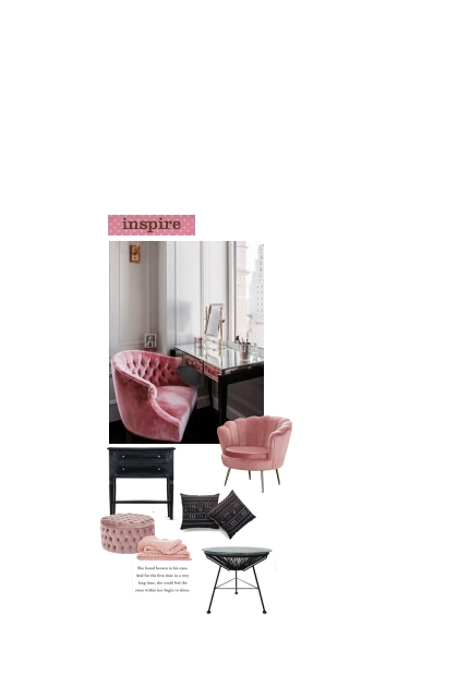 Pink. Chair  2021