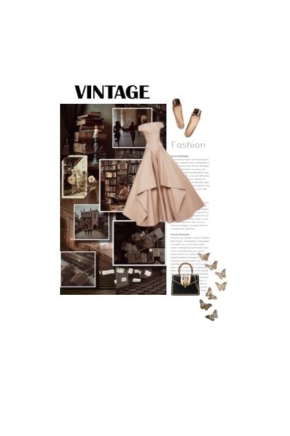 Vestido - vintage style