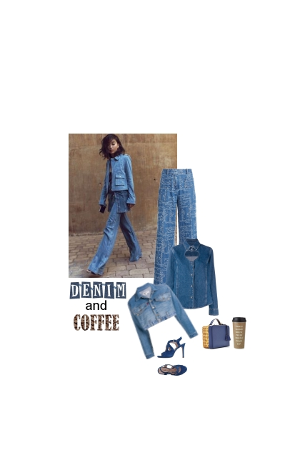 denim and coffee