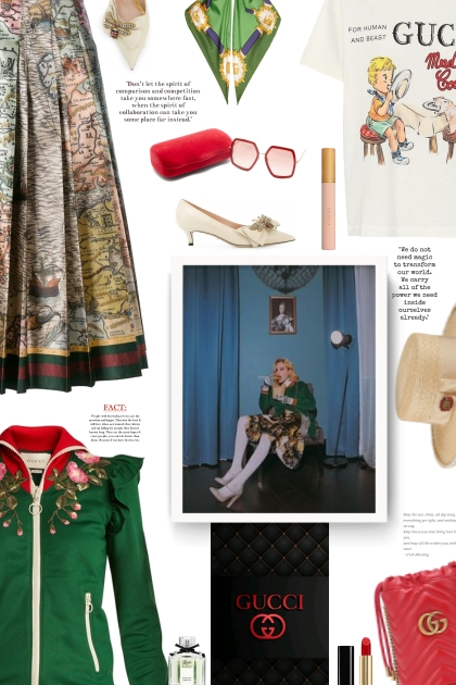 spring 2021  with Gucci