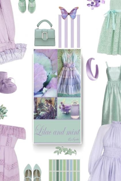 lilac. mint