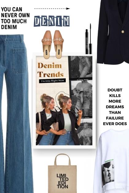 denim trends- Modna kombinacija