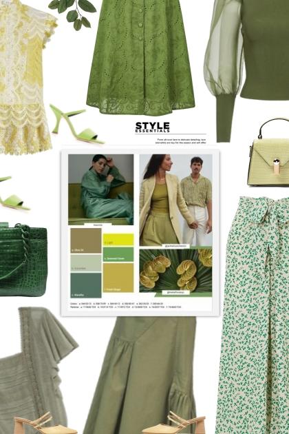 shades of green - spring 21