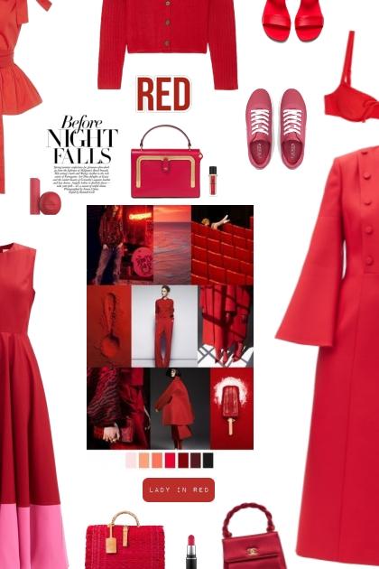 ANYA HINDMARCH - red bag