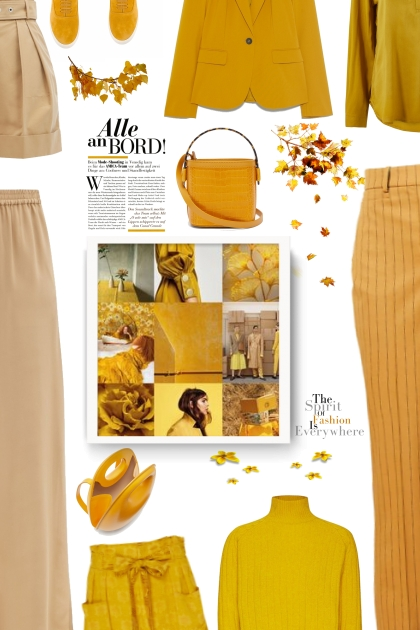 beige/yellow