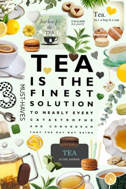 tea- Modna kombinacija