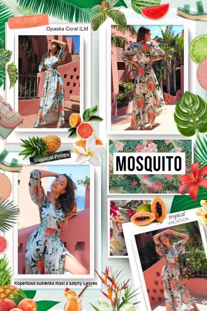 Tropical Hawaiian Print