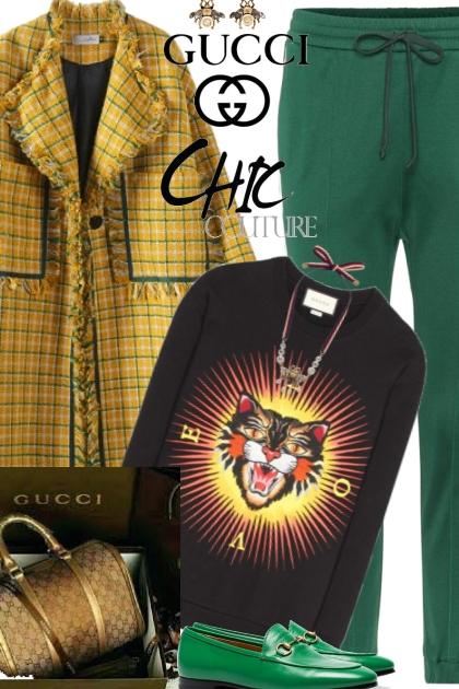 Gucci Cat Sweater