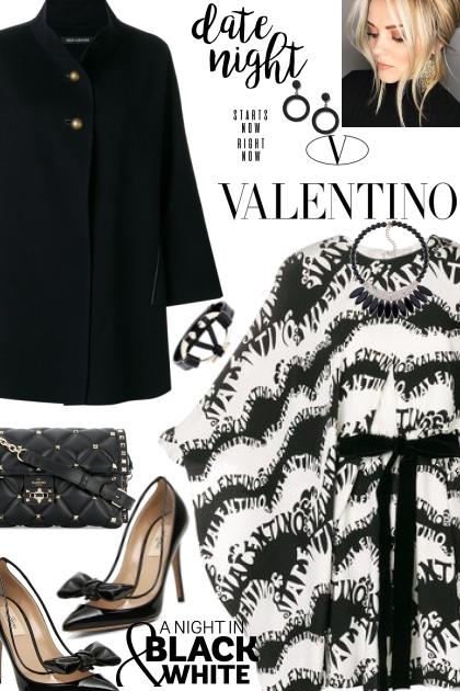 Valentino Black and White