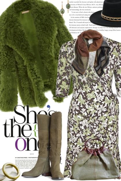 Kelly Green Coat