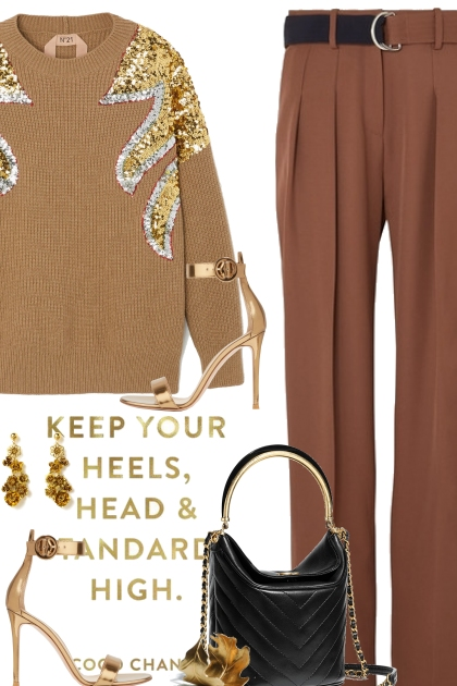 Gold and Tan