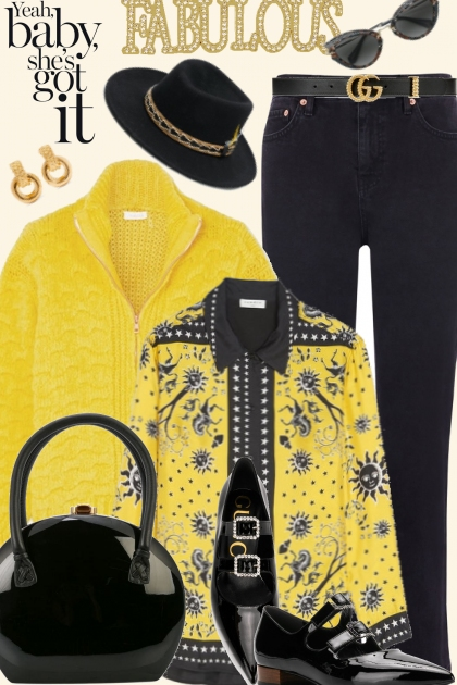 Fab Yellow and Black