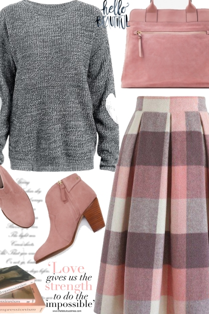 Pretty Plaid Skirt