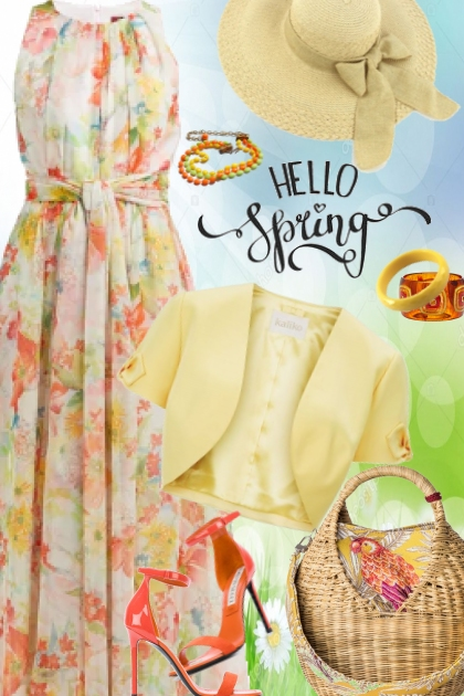 Floral Maxi-Easter