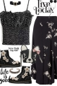 Soft Spin On Goth- Pattern Mix