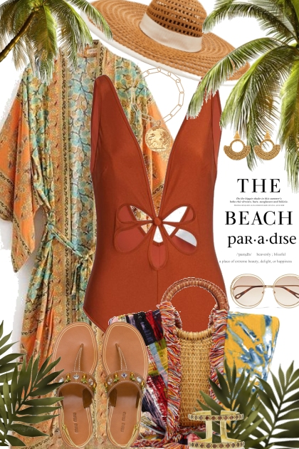 Beach Vacation- Fashion set