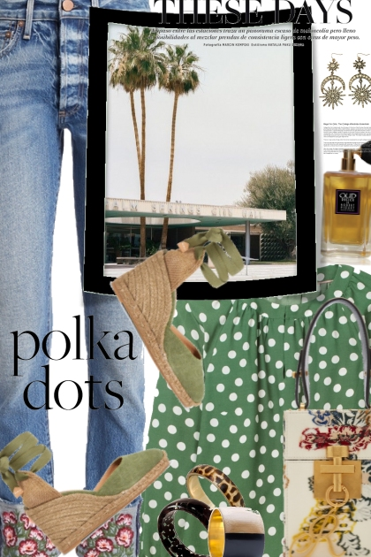 Polka Dots and Floral