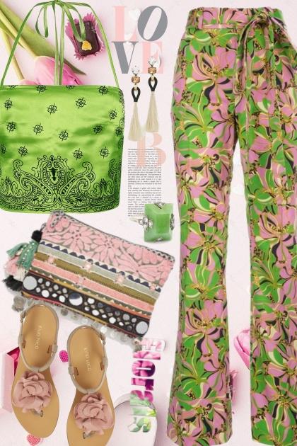 Boho Tropical - Fashion set
