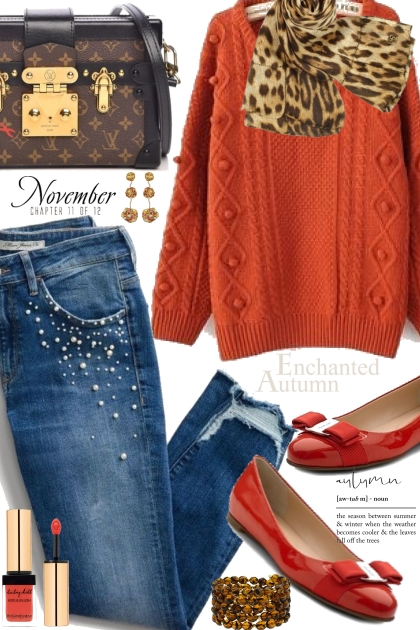 Rusty Red Sweater