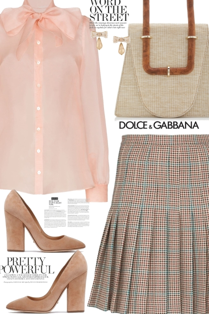D&G Bow Blouse