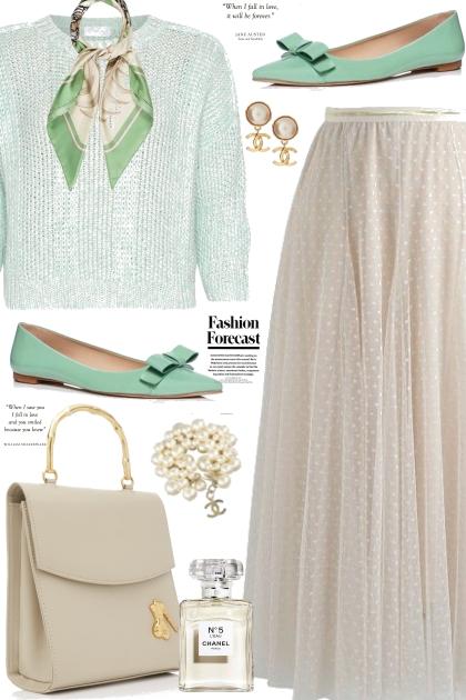 Mint Flats- Fashion set