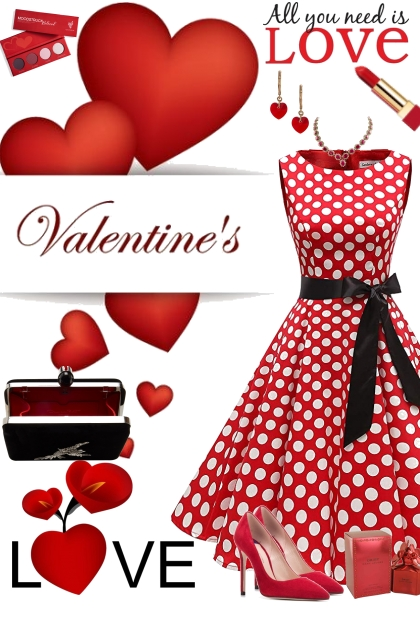 Polka Dots and Hearts