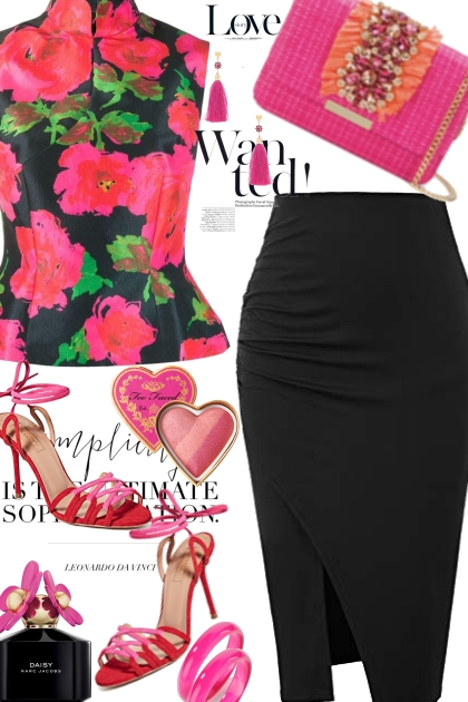 Bright Florals For Valentines