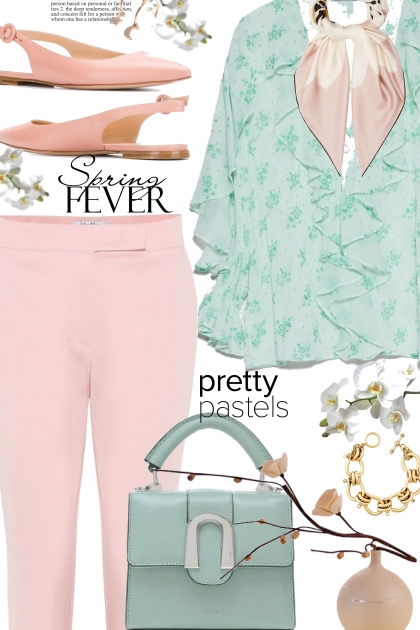 Pastel Pink and Mint