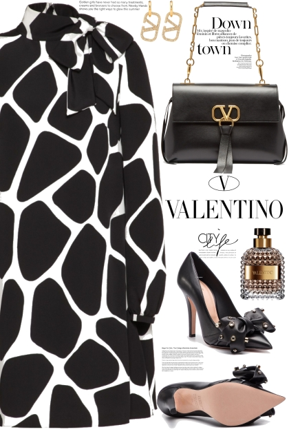 Black and White with Valentino