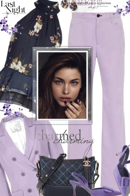 Lavender Suit