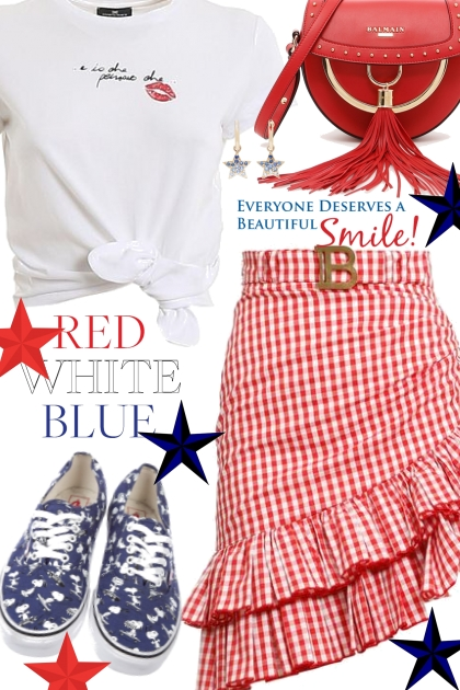 Red,White and Blue 4th