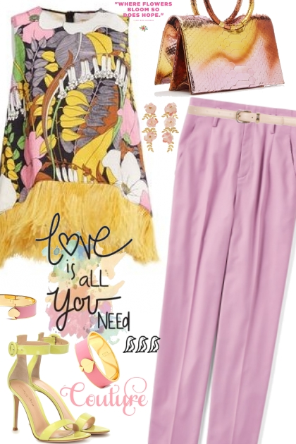 Fun Yellow And Pink