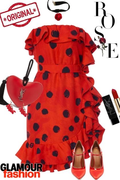 Ruffles and Dots Dress